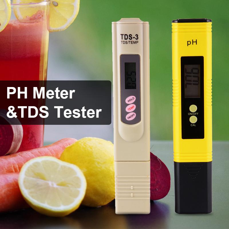 XCSOURCE Digital LCD pH Meter Pen BI575 - intl