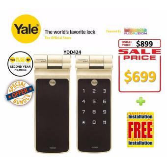 Yale Digital Biometric Tubular Deadbold Lock - YDD424