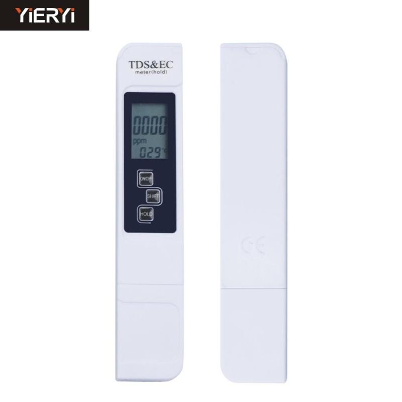 yieryi 1pcs 3 in 1 TDS Tester Conductivity Meter Water Measurement Temperature Tool Function 0-5000ppm EC Meter Arrive - intl