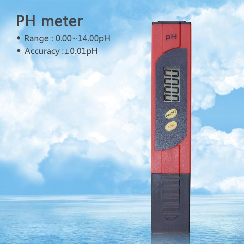 yieryi New Brand Pentype Digital PH Meters Tester With 2 Point Auto Calibration PH Tester Aquarium Pool Water Wine Urine Tool - intl