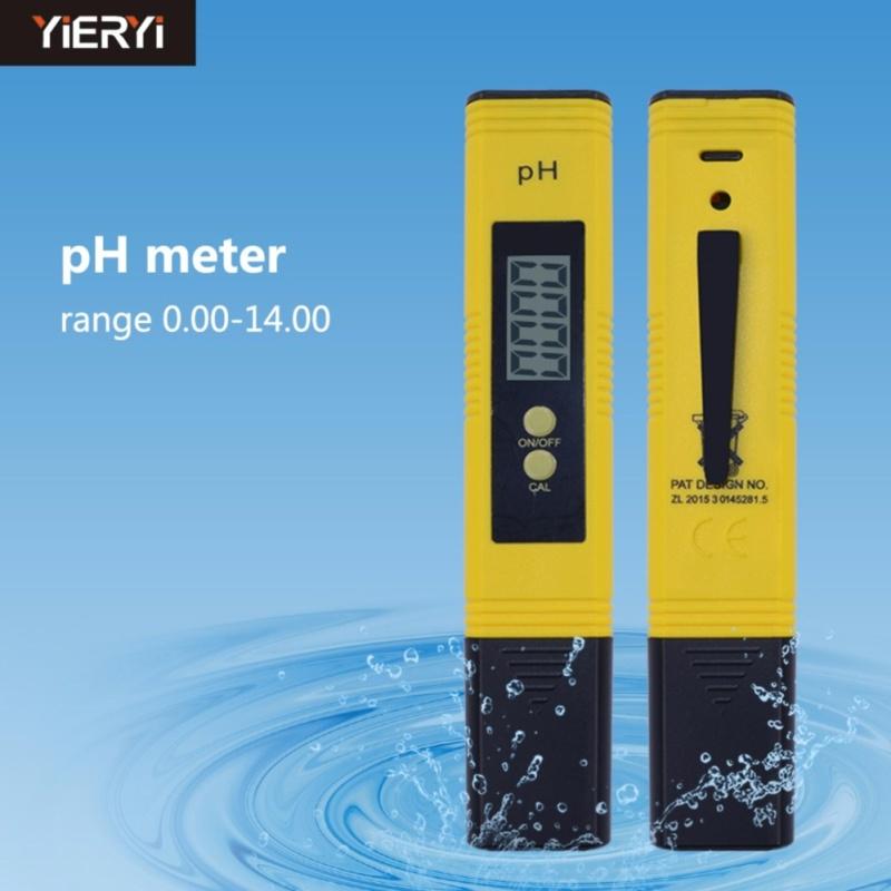 yieryi New Come High Quality Sanwony New Protable LCD Digital PH Meter Pen Of Tester Aquarium Pool Water Wine Urine Arrive - intl