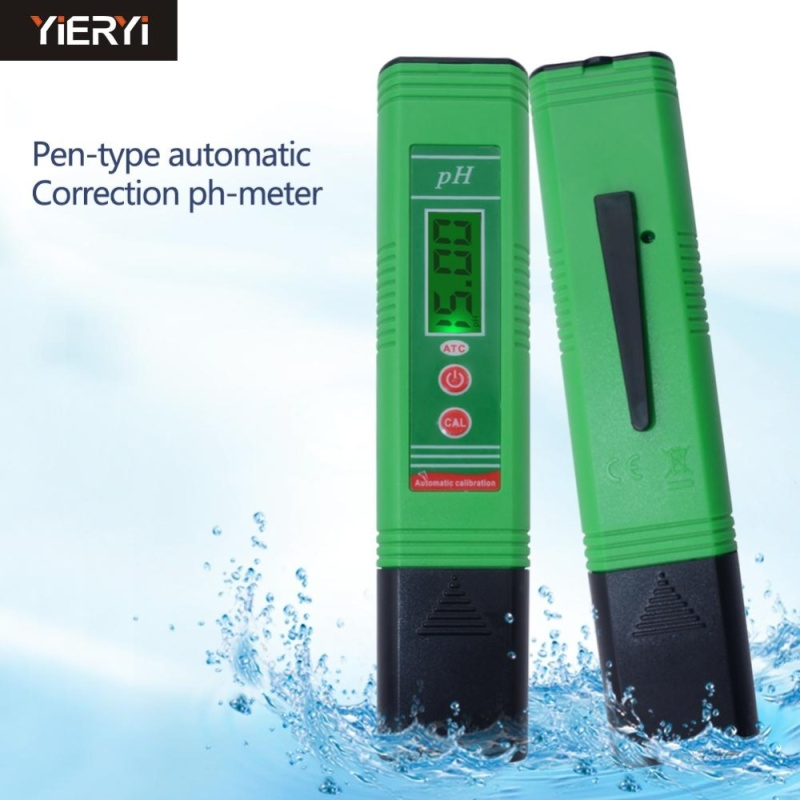 yieryi New pH Meter with Automatic Temperature Compensation pH-006 Portable Quality Analysis Device for aquarium pool water - intl