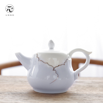 Harga Yuan is ceramic Celadon pure whole teapot Kung Fu tea