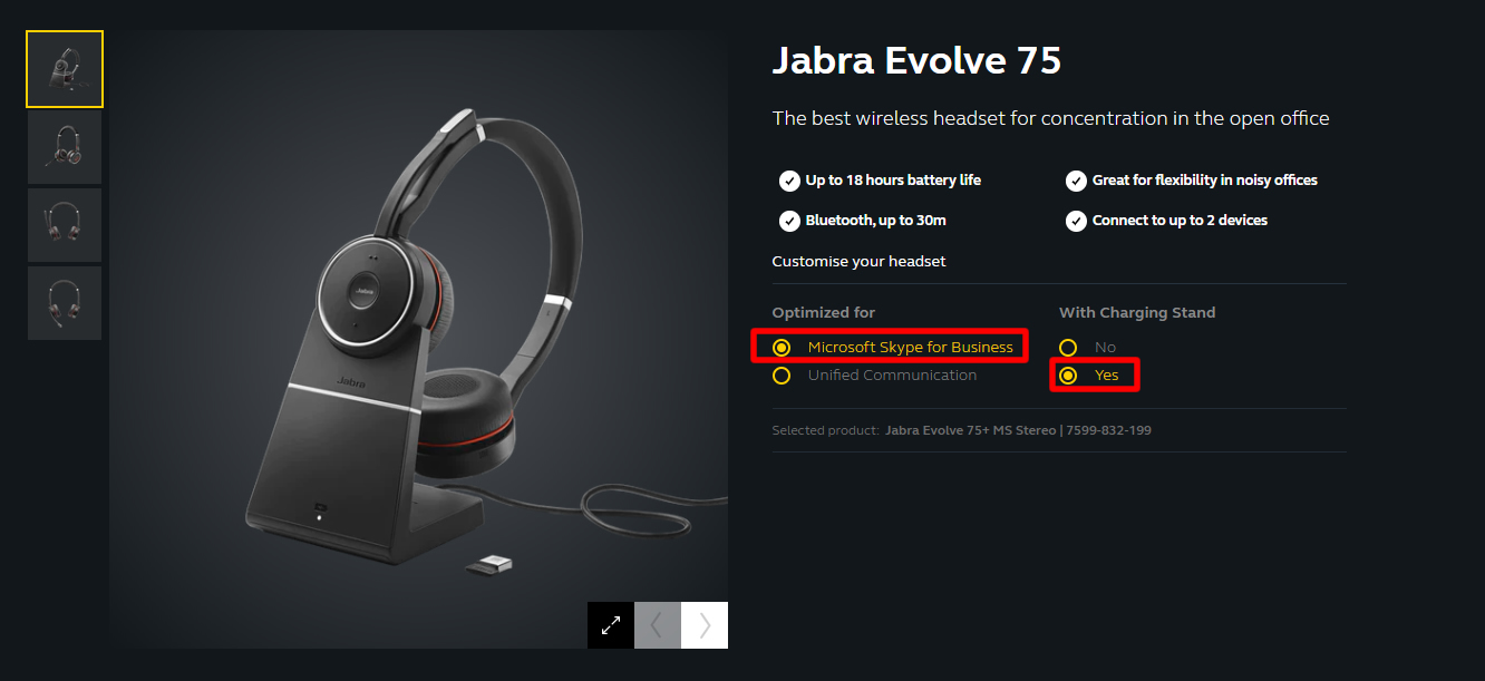 Jabra Evolve 75 Ms Stereo Wireless Noise Cancelling Headset With Charging Stand And Usb Adapter Jabra Evolve 75 Jabra Evolve 75 Jabra Evolve 75 Wireless Headset Jabra Evolve 75 Jabra Evolve 75 Ms Stereo 7599 832 199 Lazada Singapore