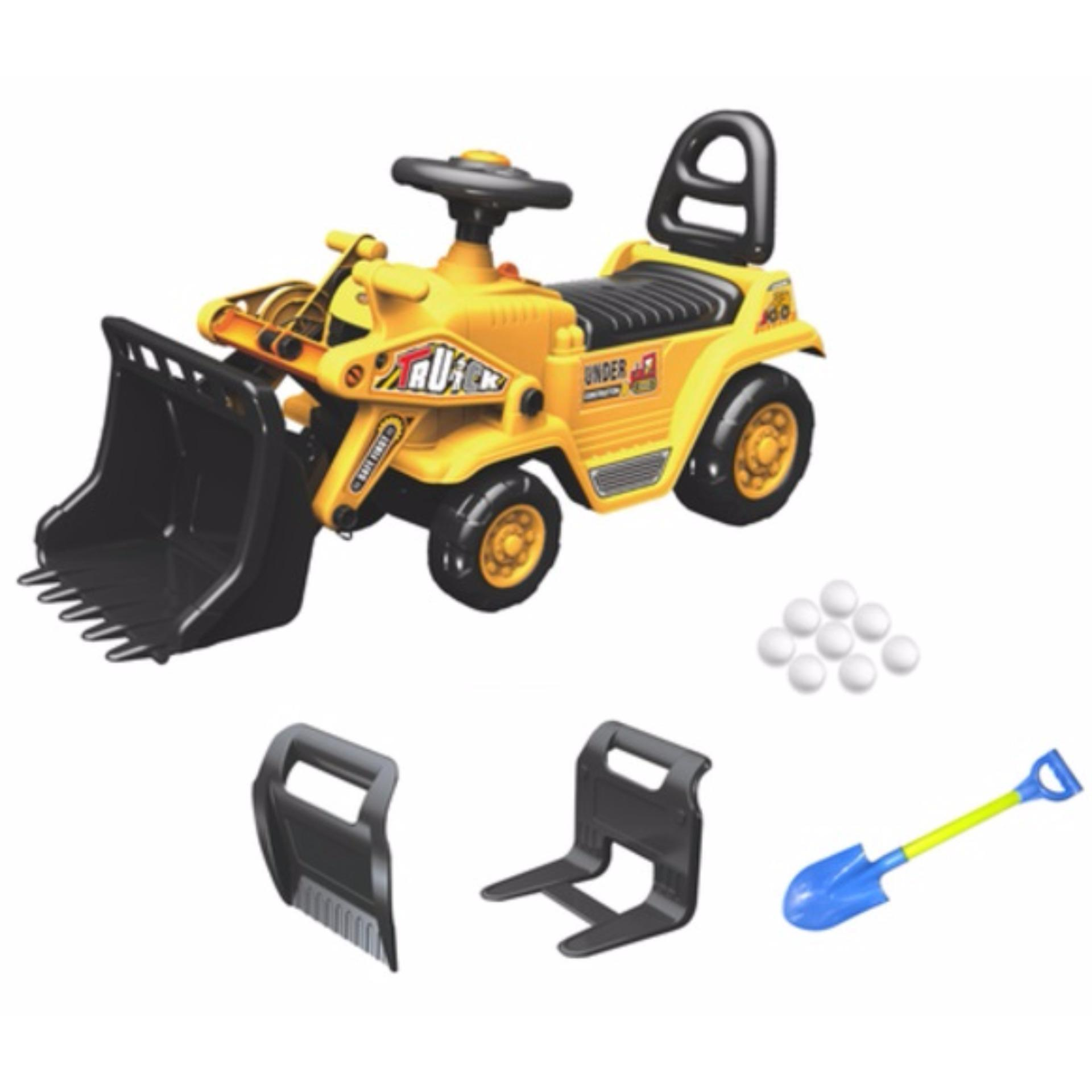 3 in 1 construction bulldozer fork lift digger ride on yd1004