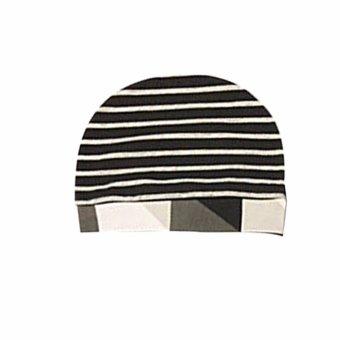 3pcs Baby Boy Hello World Color Block Shirt Pants Hat Clothes Set -intl - 5