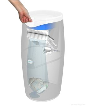 Angelcare Nappy Disposal System Starter Pack - 3