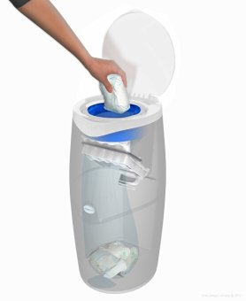 Angelcare Nappy Disposal System Starter Pack - 4