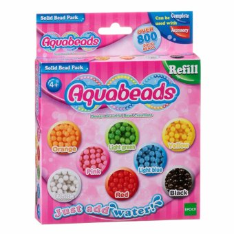 Harga Aquabeads Solid Bead Pack