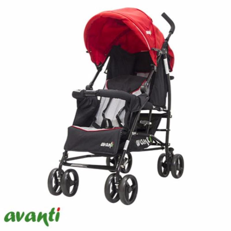 Baby double stroller Avanti Tandem Red Singapore
