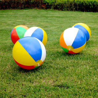 Beach Pool Ball Inflatable Aerated Air Stress Water EducationalToys - intl - 2
