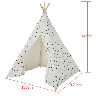 ... Black Triangle Printed Four Poles Kids Play Tent Indiana Teepee-intl - 3 ...  sc 1 st  Compare Cheapest Price in SingaporeDig For More Info About The ... & For Sale Black Triangle Printed Four Poles Kids Play Tent Indiana ...