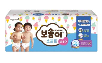 BOSOMI Soft Power Diapers Xlarge 1 Box(4Pack)