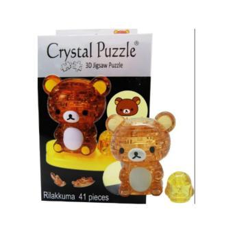 Character 3D Crystal Puzzle - Rilakkuma - 3