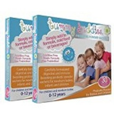 Childrens Kids Probiotic Powder Suitable For Infants & Newborn Babies With  Colic Gas Trapped Wind Reflux & Diarrhoea - Best 7 Strain Formula Incl