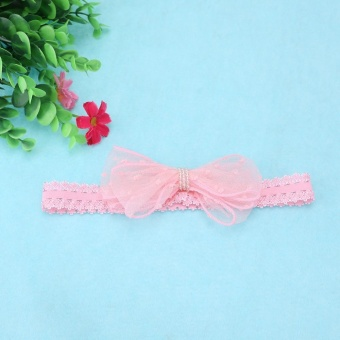 Cute Newborn Baby Girls Headband Bowknot Girls Headwear Headdress - intl - 5