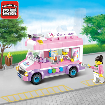 ENLIGHTEN 1112 1111 1110 1109 building blocks toy police car