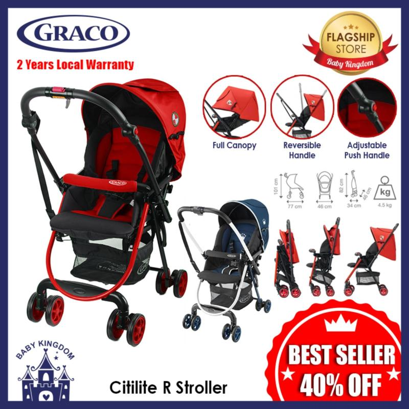 Graco CitiLite R Stroller (Red) - Local Warranty Singapore