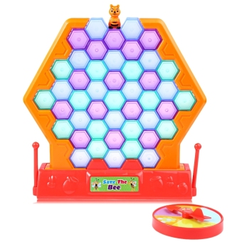 Harga Funny Kids Save Bee Desktop Block Game Family Educational Toy - intl