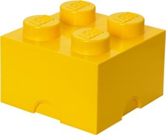 Harga LEGO Storage Brick 4 (Yellow)