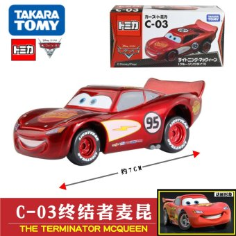 Harga Tomy alloy car cars lightning mcqueen c-03 418924 boy toy