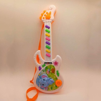 Musical Electronic Guitar Toy Educational Toys Early Toddler For Baby Music Play - intl - 4
