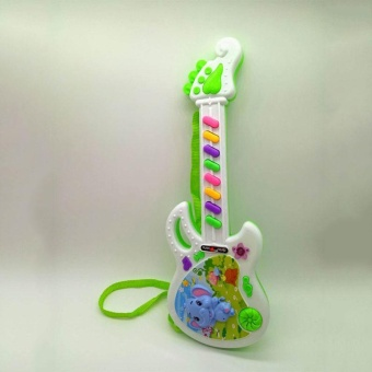 Musical Electronic Guitar Toy Educational Toys Early Toddler For Baby Music Play - intl - 3