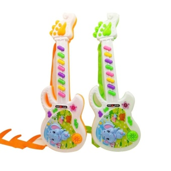 Musical Electronic Guitar Toy Educational Toys Early Toddler For Baby Music Play - intl - 5