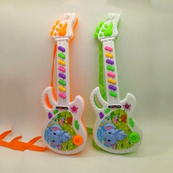 Musical Electronic Guitar Toy Educational Toys Early Toddler For Baby Music Play - intl - 2