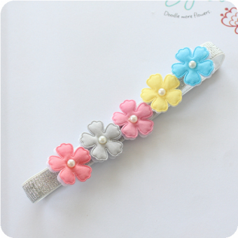 Harga two korean children hair accessories baby hair accessories baby hair band headdress princess lace baby hair band