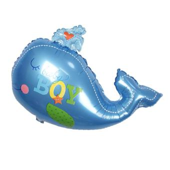 Harga 90*72cm Cartoon Whale Aluminum Film Balloon For Birthday Party Wedding Party Decoration Balloons Home Decoration