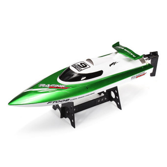 Harga Feilun FT009 2.4G 4CH Water Cooling High Speed Racing RC Boat Green (EXPORT)