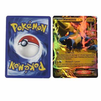 Harga Hequ Pokemon Cards Game English Anime Pokemon Cards Trading Cards Toy For Children Funny Board Game indoor games 1set - intl