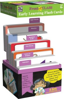 Carson Dellosa Early Learning Flash Cards: 6 Sets of 54 Flash Card (324 cards) - 2