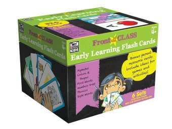 Harga Carson Dellosa Early Learning Flash Cards: 6 Sets of 54 Flash Card (324 cards)