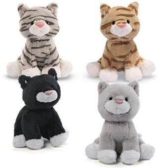Harga Gund Animal Chatters Cat 4.5 Inches