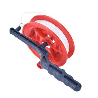 Harga Fine Grip Wheel Kite Reel Ballbearing Handle with 60/110Meters Line 60m - intl