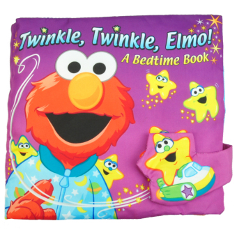 Sesame street stereo multifunction touch aimo goodnight cloth book baby cloth book cloth book with sound paper bb device