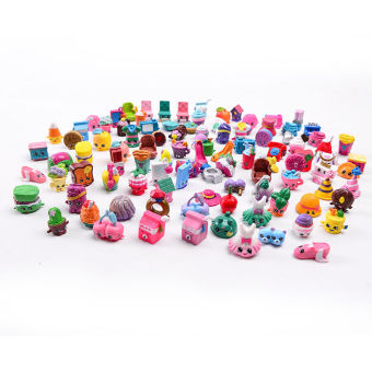 Harga Shopkins Toys 50 PCS Loose Action Figures Different Random Styles Season 1, 2 , 3, 4, 5, 6 - intl
