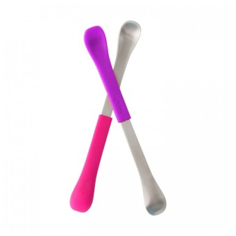 Harga Boon Swap Feeding Spoon 2 Pack (Pink-Magenta)