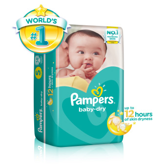 Harga Pampers Baby Dry Diapers S 58s x 1 pack