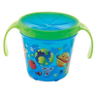Harga Munchkin Deco Snack Catcher, Blue Space print