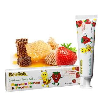 Beelab Natural Children Tooth Gel with Manuka Honey - Strawberry flavour - 2