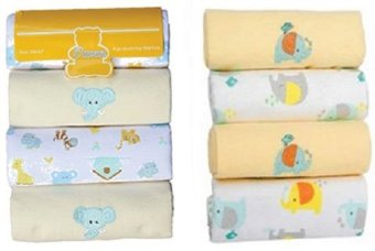 Harga Owen 4 Piece Receiving Blanket Yellow