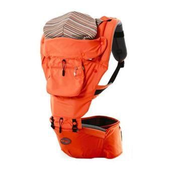 Korea leading brand Jerry Baby FLY-B Multifunction Comfortable Hip Seat Baby Carrier- Orange
