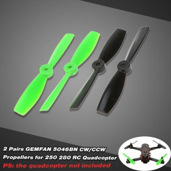 2 Pairs GEMFAN 5046 CW/CCW Propellers for QAV250 H250 280 RC Quadcopter - 4