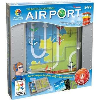 Harga GAMES Airport Traffic Control IQ Toy and Game