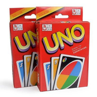 Harga Family Fun One Pack of 108pcs UNO Game Playing Card - intl
