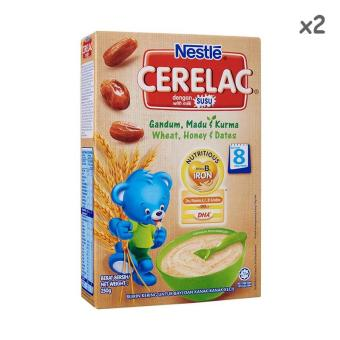 Harga Nestle Cerelac Wheat, Honey and Dates 250g X 2boxes