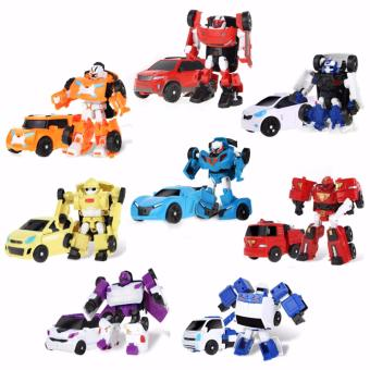 Harga Coolplay 8Pcs/Set Tobot Mini Series Transforming Robot 8 in 1 (C,D,R,W,X,Y,Z,Zero) - intl
